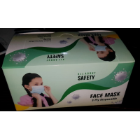 3Ply Surgical Mask with Nose Pin