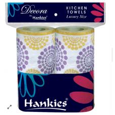 Hankies Decora Kitchen Towel Twins